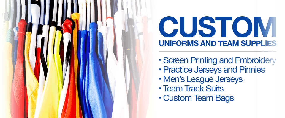 Custom Uniforms and Team Supplies